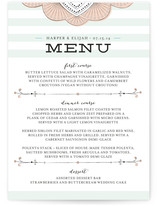 Striped Sweet Nothings Menu