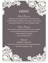 Lace and Kraft Menu