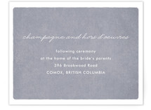 Clam Reception Cards