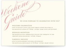 Winter Flourish Reception Cards