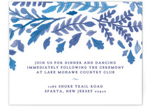 China Plate Reception Cards