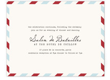Airmail Reception Cards
