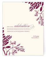 Tuileries Reception Cards