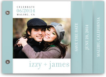 float + celebrate Save the Date Minibook™ Cards