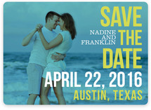Love Bop Save the Date Magnets