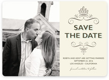 Simple Chic Save the Date Magnets