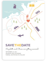 Destination Save the Date Magnets