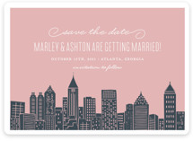 Big City - Atlanta Save the Date Magnets