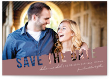 Simply See Through Save the Date Postcards
