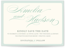 Float + Spring Shades Save the Date Postcards