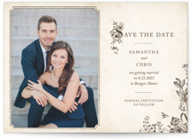 Story Book Save the Date Postcards