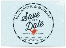 Salty Seas Save the Date Postcards