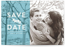 A Banner Date Save the Date Cards