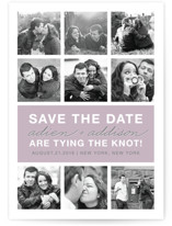 Photo Gallery Save the Date Cards