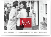 Let Love Rule Save the Date Cards