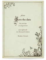 Storybook Save the Date Cards