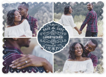 Festive Love Save the Date Cards