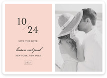 Forever Classic Save the Date Cards