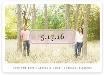 Center of Attention Save the Date Cards