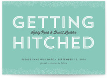 Hitched Save the Date Cards