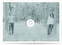 Color Tint Save the Date Cards