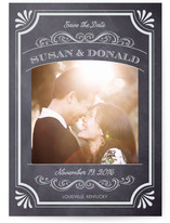 A Chalkboard Marriage Save the Date Cards
