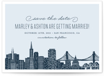Big City - San Francisco Save the Date Cards