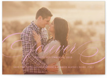 Forever Save the Date Cards