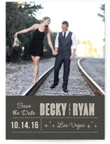 Lucky in Love Save the Date Cards