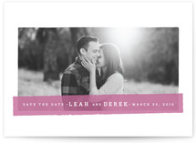 Highlighter Save the Date Cards