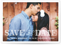 Chosen Save the Date Cards