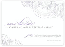 Intricate Save the Date Cards