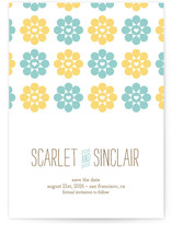 Sunflower Love Save the Date Cards