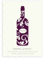 Vineyard Silhouette Save the Date Cards