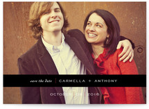 Banded Save the Date Cards