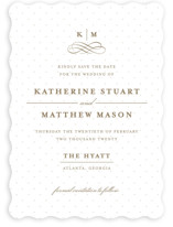 A Glamorous Affair Save the Date Cards