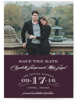 Soiree Save the Date Cards