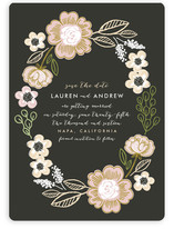 Botanical Wreath Save the Date Cards