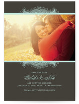 Ornate Frame Save the Date Cards