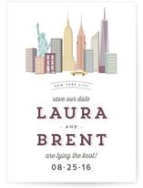 Destination New York Save the Date Cards