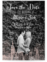 Love and a City Save the Date Cards