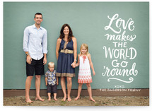 Love Makes the World Go... by Laura Bolter Design