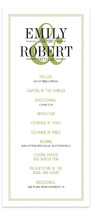 Wed in Type Wedding Programs