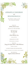 Fling Wedding Programs